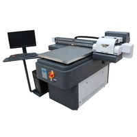 hot selling a1 uv 3d printer for pvc card,pen,acrylic,glass prints uv led printer with three tx800 nataly