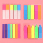Pages Sticker Colorful PET Bookmark Memo Flags Sticky Notes sticker