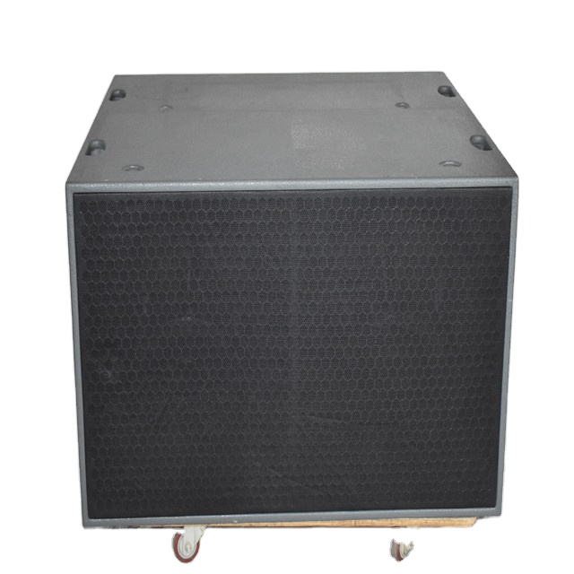 China golden supplier audio stage speaker 18 inch subwoofers for outdoor use