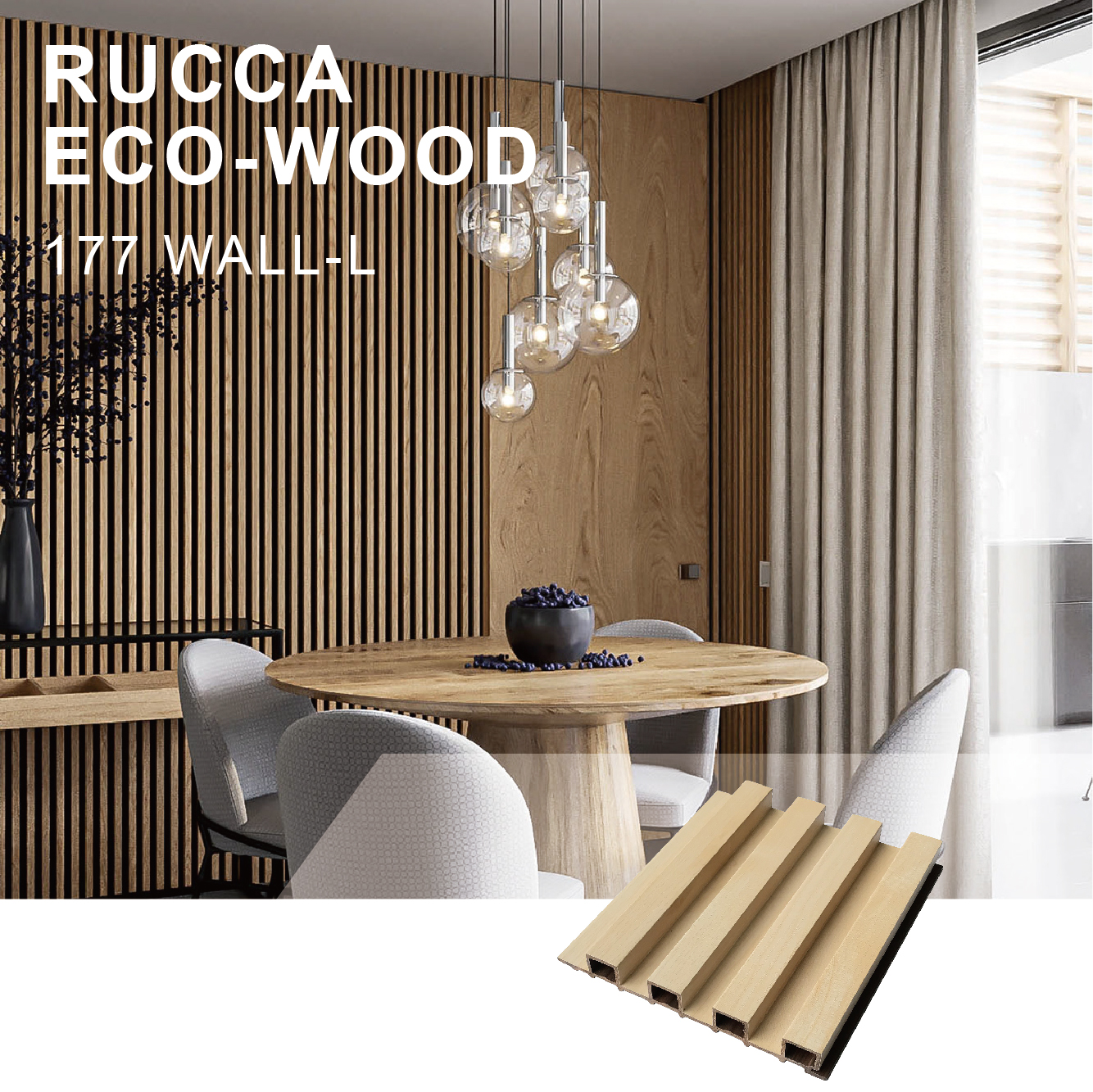 Rucca Wood Plastic Composite Wall Panels Interior Decoration For Prefab Homes 177 21 5mm Building Materials Buy Interior Wall Panel Prefab Homes Bathroom Accessories Product On Alibaba Com
