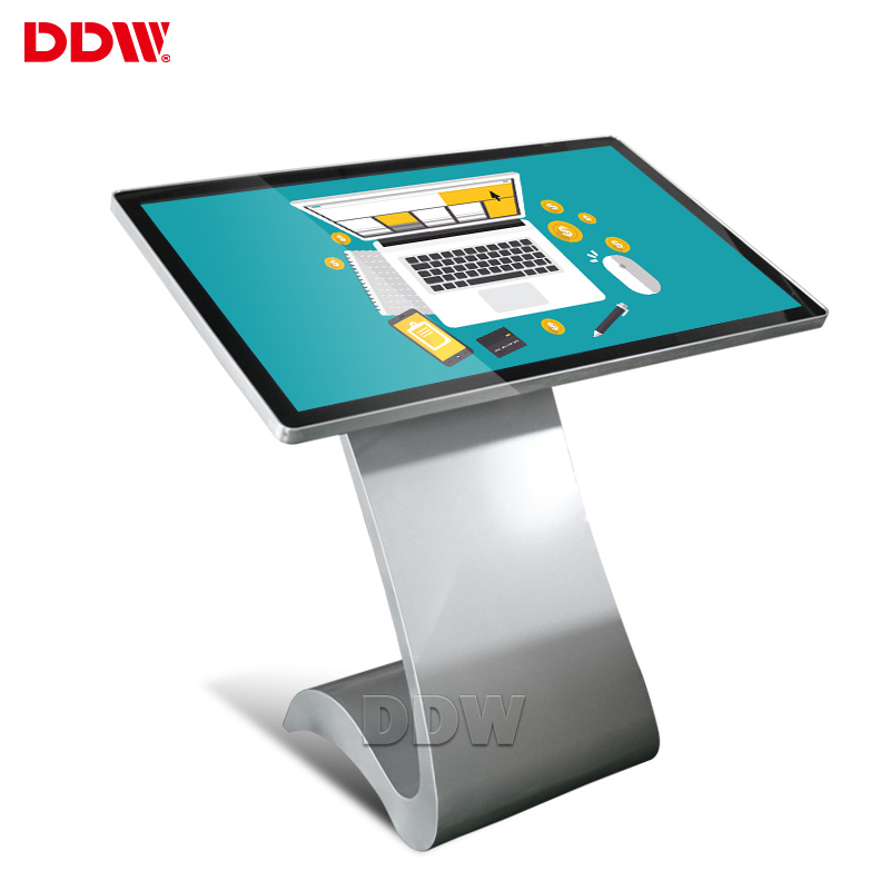 Professional customization 43 inch advertising lcd touch screen kiosk FHD wifi android touch screen kiosk