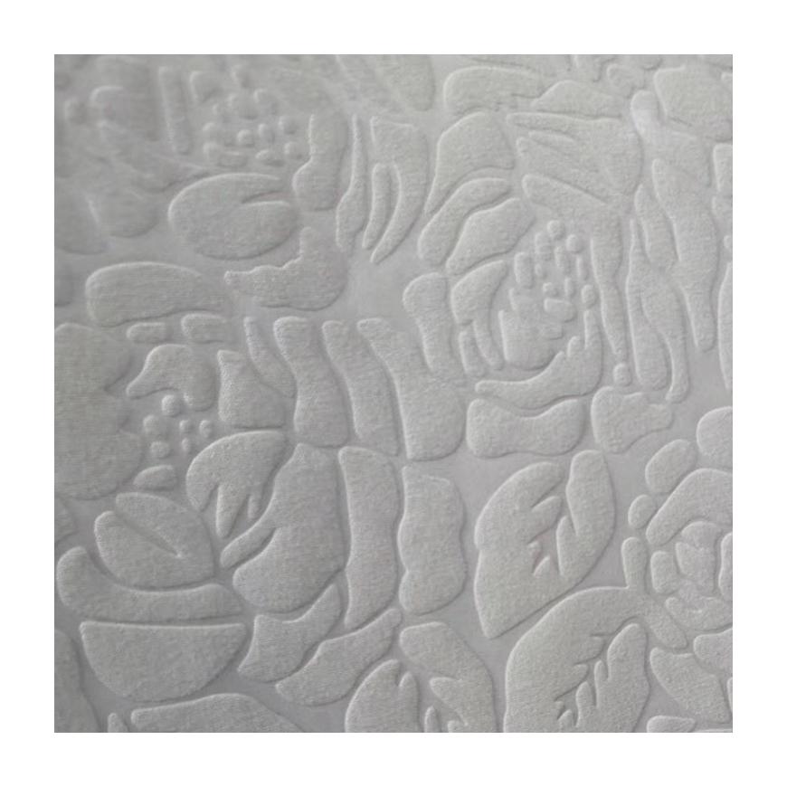 Mikrofiber kabartmalı tarzı çarşaf kanepe % 100% polyester yatak kumaşı çin'den ev tekstili için