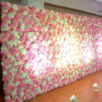 16cm High quality DIY artificial hydrangea head for wedding flower wall archway guide wall flower arrangement accessories