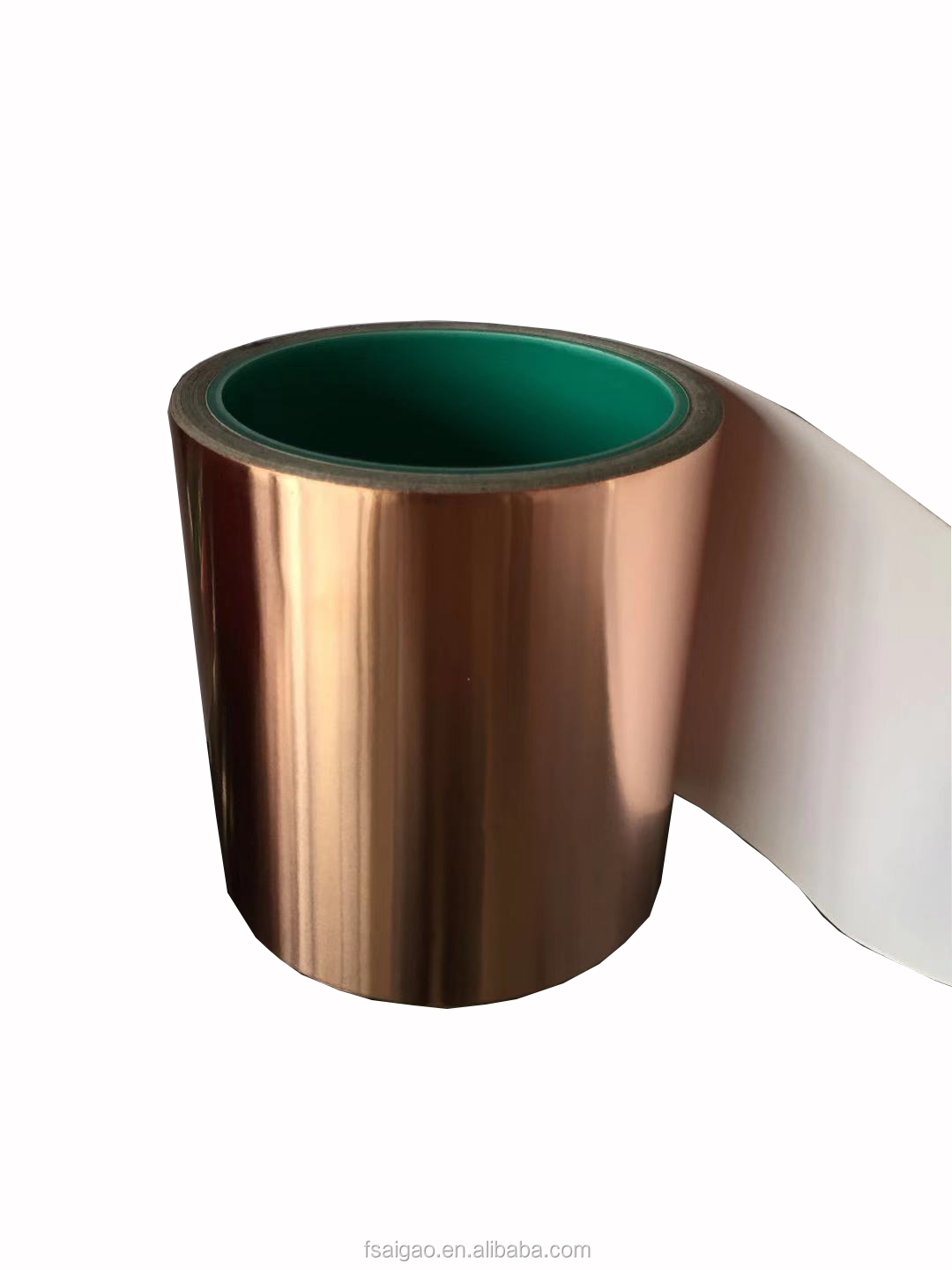 Custom Single Sided Adhesive emi shielding 0.06mm Copper foil emi absorbing shielding material