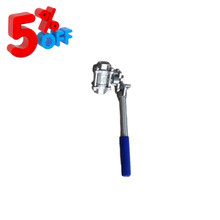 WOG 3PC SS304 SS316 cf8m Manuale <span class=keywords><strong>A</strong></span> Leva <span class=keywords><strong>A</strong></span> Mano Femminile <span class=keywords><strong>Maniglia</strong></span> In Acciaio Inox Automatico <span class=keywords><strong>a</strong></span> <span class=keywords><strong>Molla</strong></span> Filettato Auto di <span class=keywords><strong>Ritorno</strong></span> di Reset Palla valvola