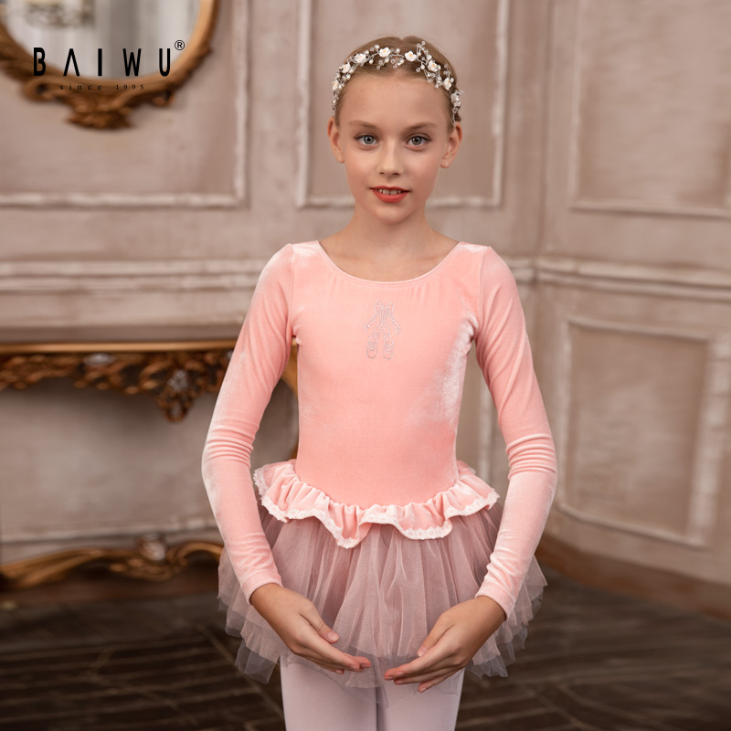 119242310 New Design OEM ODM Wholesale Performance Wear Ballet Tutu Girl