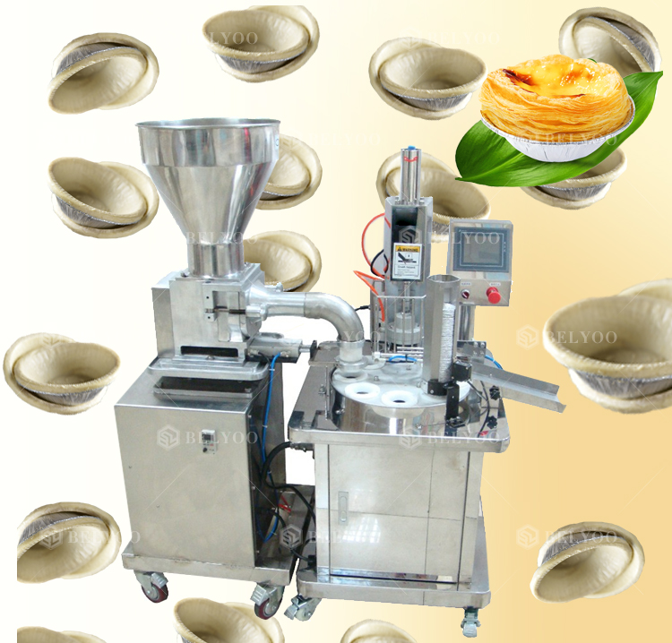 Malaysia Sell Well Egg Tart Shell Forming Machine Egg Tart Press Machine
