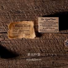 JIANWU ретро печать для билета в Атлантик DIY Деревянные и резиновые штампы для скрапбукинга лист планировщик печать журнал ремесла поставки(Китай)