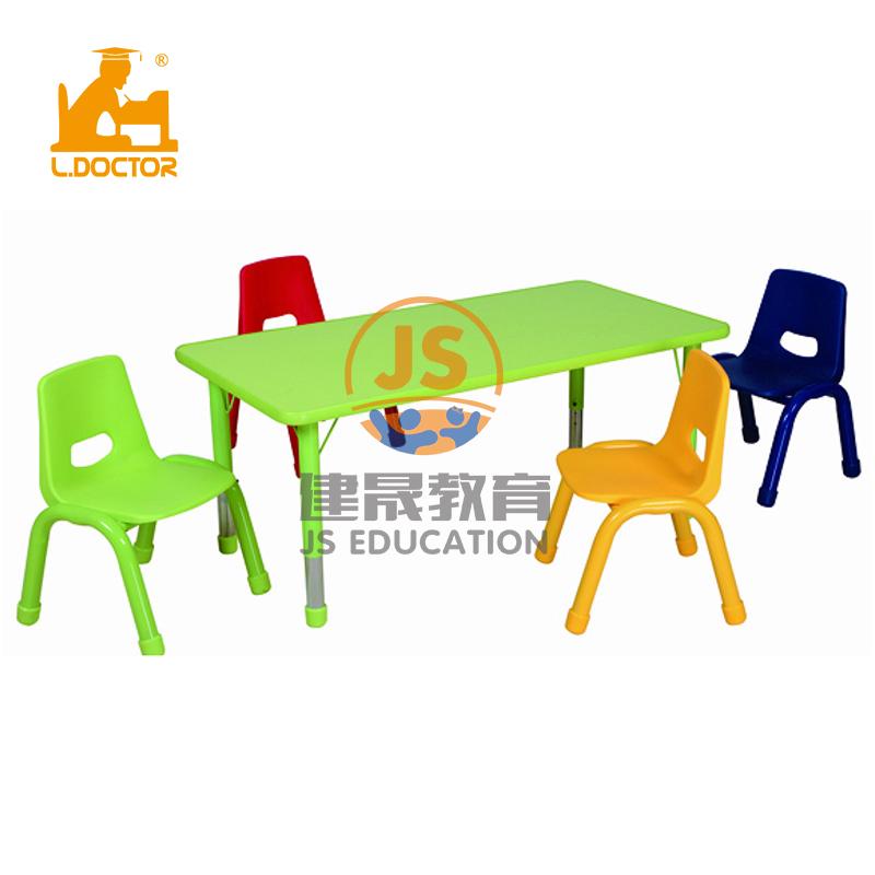 Colorful safe kindergarten furniture in children furniture sets