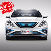 hot sales and high speed Dongfeng S50 eec electric car with electric sedan for promotion