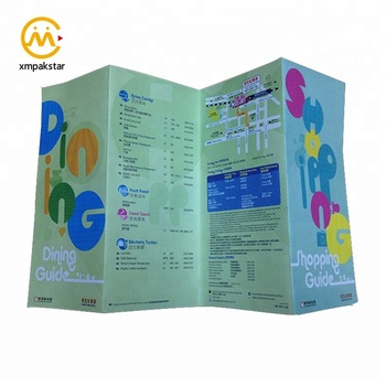 China Factory Commercial Customized Design Leaflet Printing Service