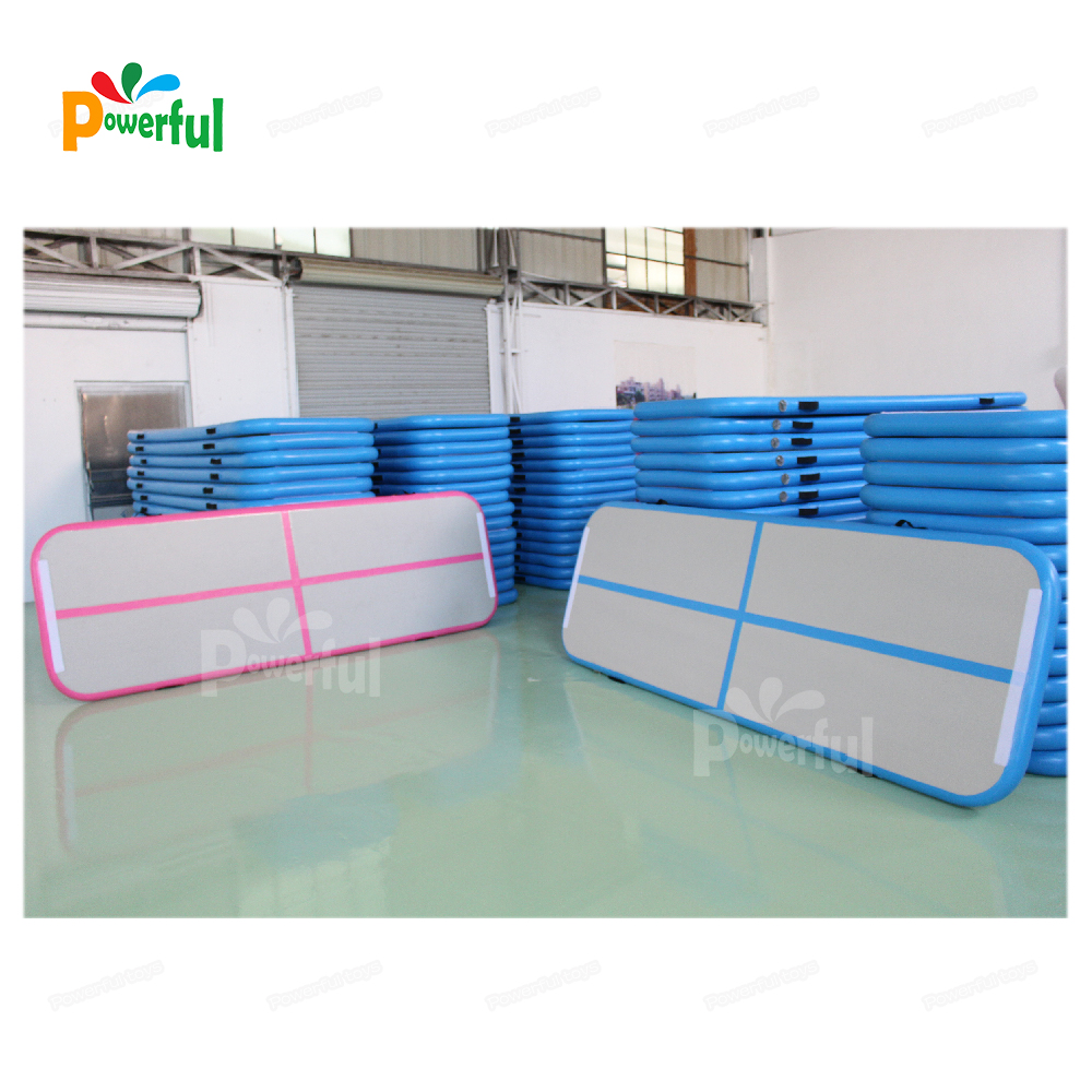 Inflatable tumbling air floor, 3m air track for gymnastics