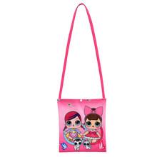 Оригинальная сумка Lol Surprise Doll с мультипликационным принтом, сумка через плечо, Модный милый повседневный рюкзак для кукол, подарок на день р...(Китай)