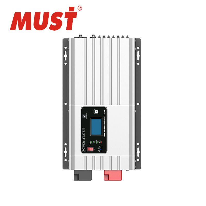 Top solar inverter produttore shenzhen DEVE Max 100A automatic-stage battery charger power inverter 10kw