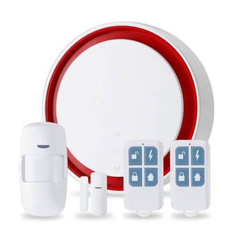 Wholesale Newest Tuya APP wireless WIFI+GSM Security Smart Home Alarm System