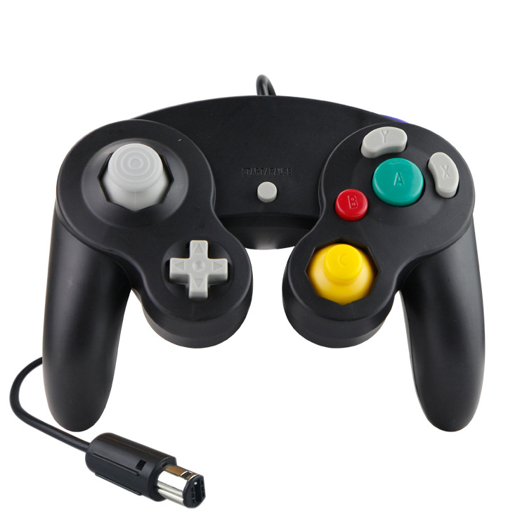 Wired Gamecube Joystick NGC Gaming <strong>Controller</strong> For Nintendo Console / Wii game cube Gamepad NGC