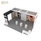 IZEXPO 30MINS QUICK BUILD exhibition stand material stand expo booth for trade show