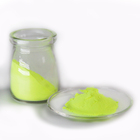 JULIANG sunshine yellow pigment glow in the dark colorful luminescent powder pigment phosphor powder