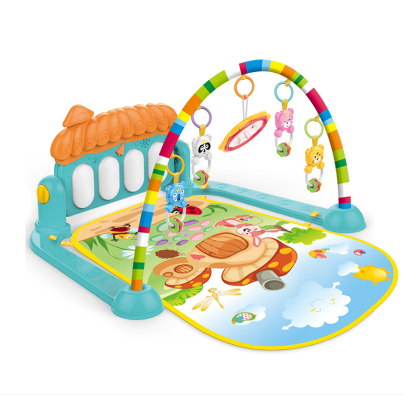 New product educational pedal baby play gym piano fitness rack