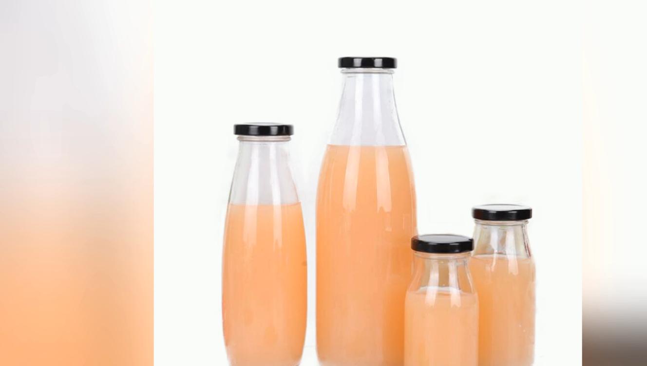 الجملة فارغة 500 مللي الحليب/عصير/الشاي/شرب زجاجة مع غطاء