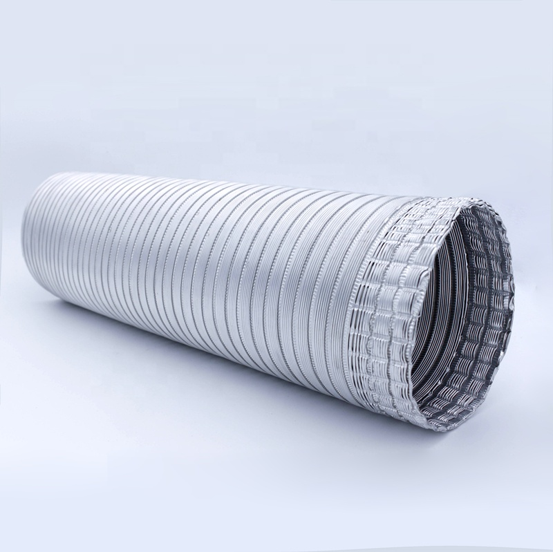 HVAC Systems & Parts round silver aluminum duct