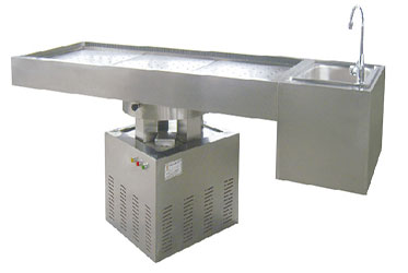 GA002 Medical Appliances Stainless Steel Funeral Casket  and Coffins Cart Lowering Device