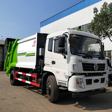 China 10m3 dongfeng compactor müll lkw abfall sammlung lkw preis
