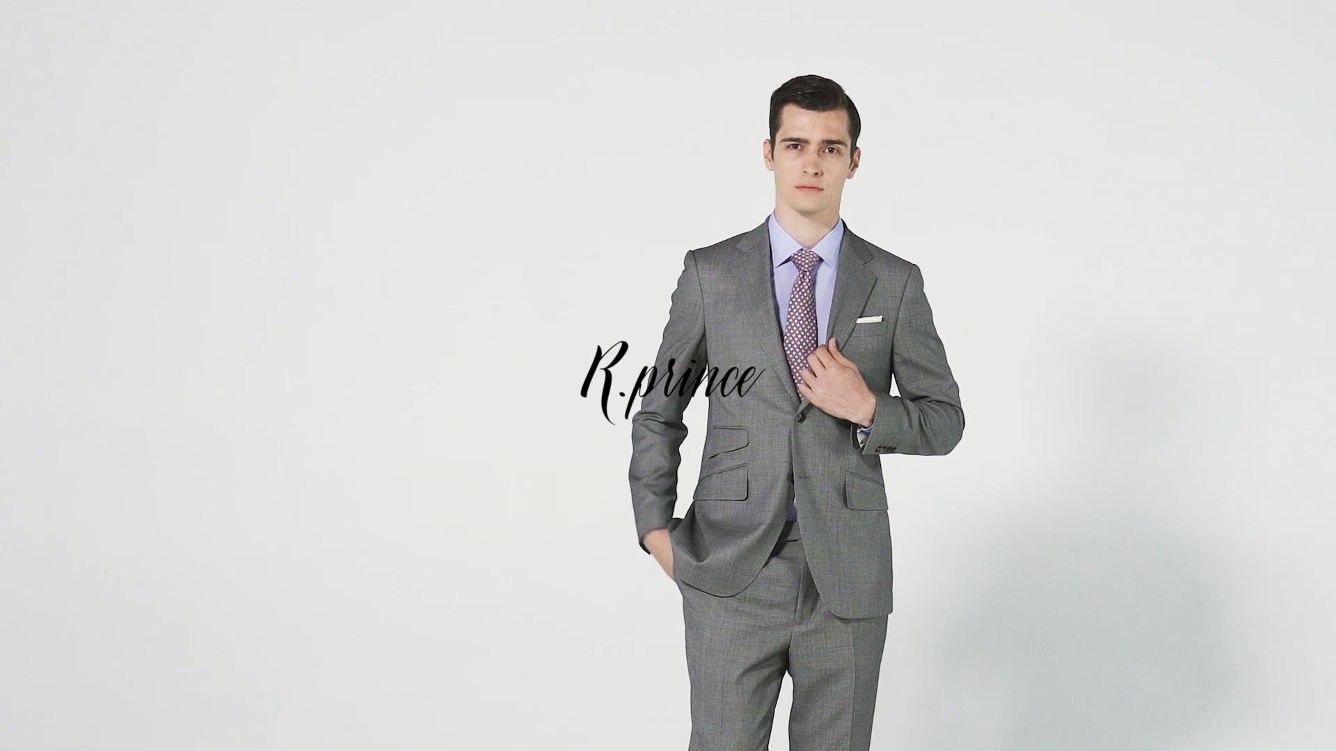 R. Prins Groothandel Mens Pakken Set Luxe Custom Suits 2 Stuk Suits Set Voor Mannen