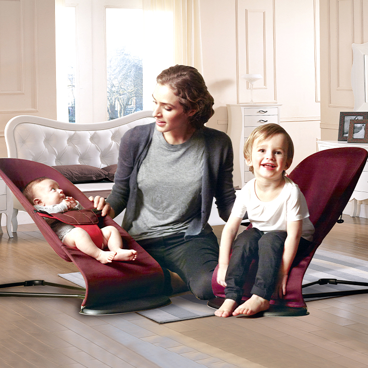 Portable Automatic Balance Bouncer Soft Deluxe Infant Swing chair Baby Bouncer