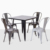Luxury classic design dinning table set dining room furniture