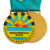 custom made wholesale carnival fiesta souvenir medal