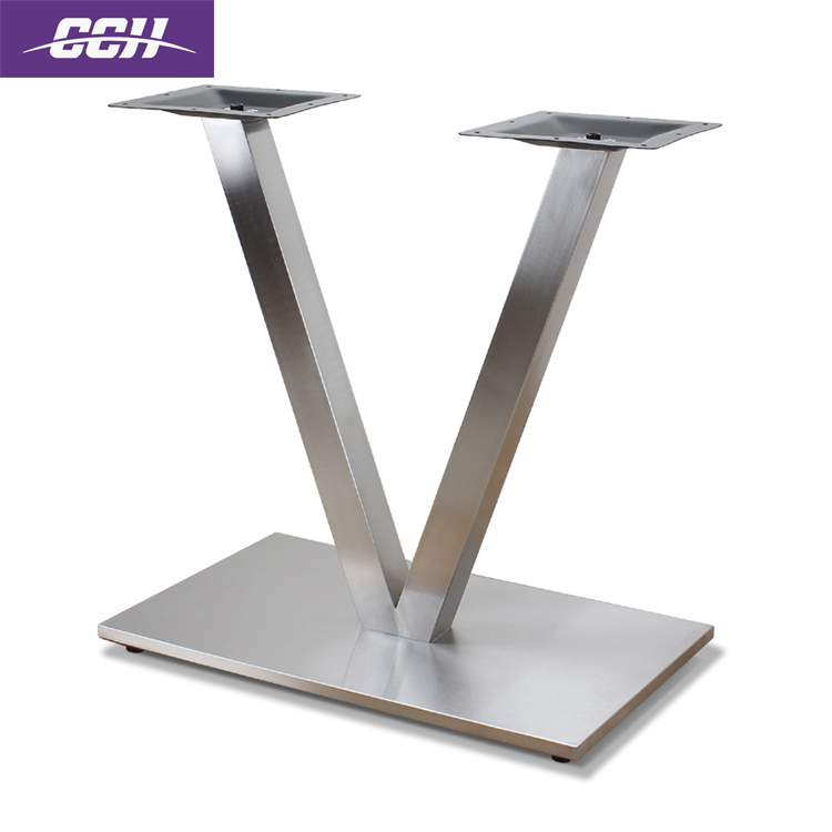 Hardware adjustable height folding table legs telescopic table leg brackets in furniture dining table base