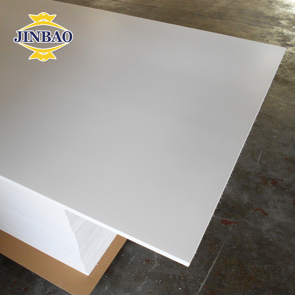 JINBAO 4'x8' white high quality hot sell china supplier pvc sheet for covering kitchen