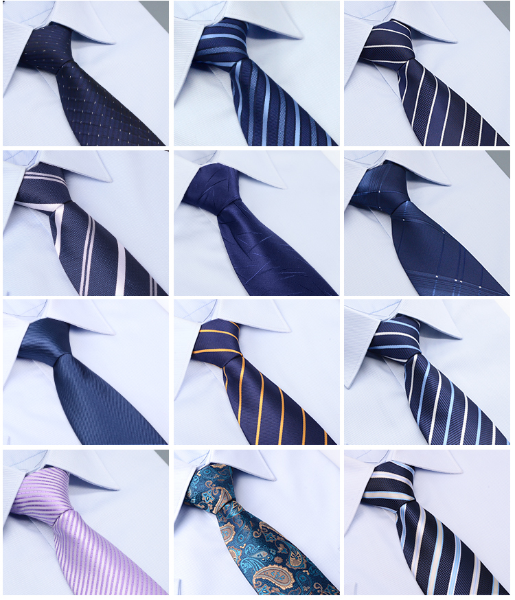 Ready to Ship Good Quality Necktie Silk Material Ties Handmade Private Label Tie for Men