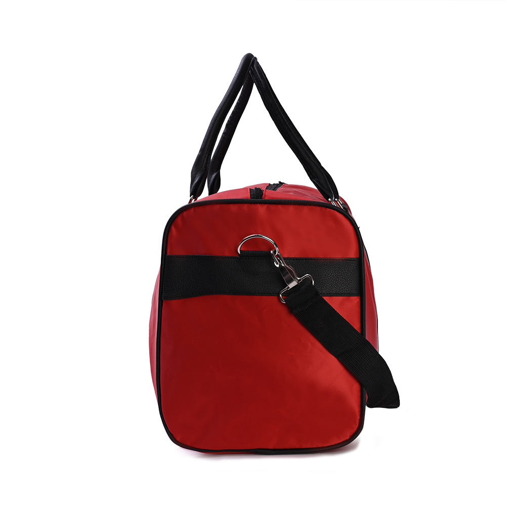 Travelling Duffel Selling Silk screen Nylon GYMBAG for Member gifts Hiking Camping Outdoor Sport Shoulder hand bag GYM BAGs