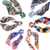 2020 Trendy Houndstooth Chain printed Hair Scrunchies Scarf women Ponytail Holder Head Scarf
