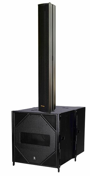 Profesyonel alüminyum Q608 su geçirmez 700W çift 6.5 inç neodimyum LF driverColumn Hoparlör