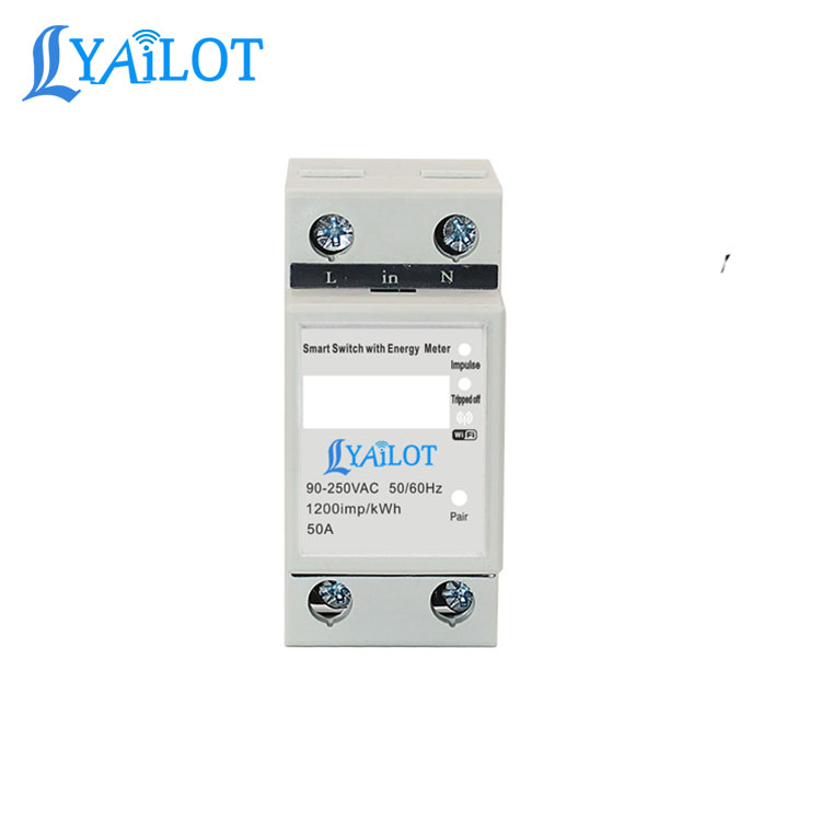 New Products From Lyailot Tuya Smart Life Single Phase Smart Digital Electricity <strong>Meter</strong>