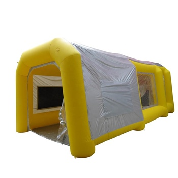 Top car used pvc waterproof mobile inflatable spray paint booth