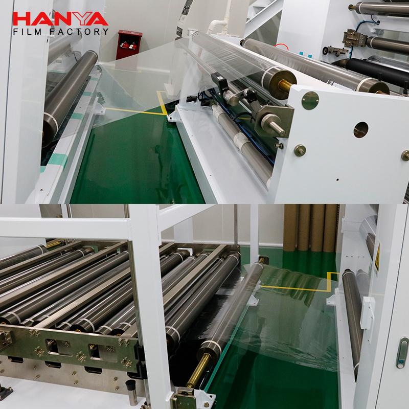 HANYA UV 400 100% Protection Self-adhesive Car Solar Window Film