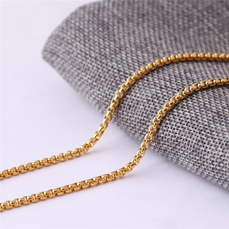 Gold Hip Hop Necklace Chain Waist Silver Mens Body Filled Men Chain Manufacturer Rope Link Stainless Steel Chain
