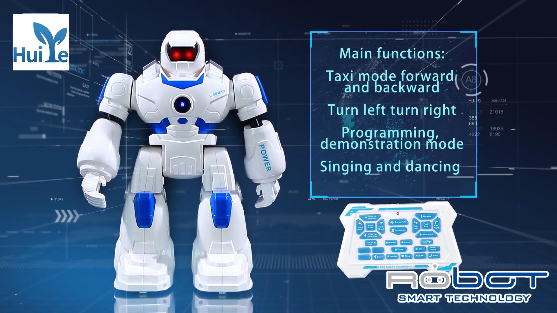 Huiye 2020 hobby del RC di telecomando a raggi infrarossi intelligente AI giocattolo robot intelligente giocattoli di dancing robot giocattolo giocattoli