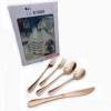 20pc rose gold(Dinner knife/fork/spoon  Des spoon/salad fork)
