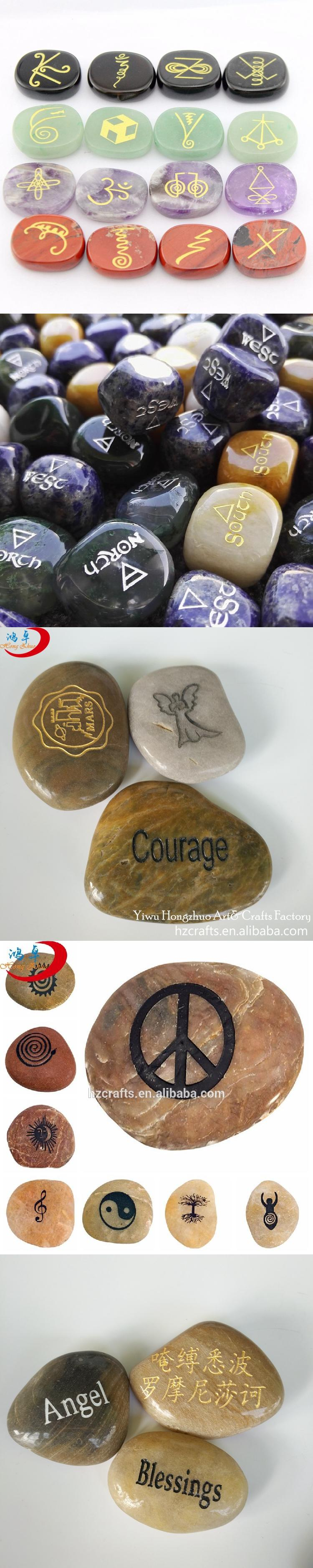 Best selling stone crafts gift amazon top selling engraved high quality black rocks with romantic words for gifts