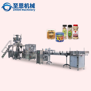Dry fruits Peanuts Pistachio Cashew Nuts Grains Weighting Filling Machine Line Price
