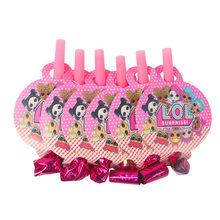 Куклы LOL Surprise, украшения для дня рождения, принадлежности для праздника, чашка, тарелка, ложка, подставка для торта, куклы LOL, DIY, вечерние укра...(Китай)