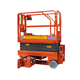 China functional low price 6m hydraulic self-propelled scissor lifts drivable at full height with proportional controls