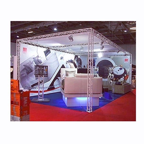 Easy Setup Modern Design Aluminum Alloy Portable 3x3 Tradeshow <strong>Booth</strong> 10x10 Exhibition <strong>Booth</strong> Fabric Display <strong>Stand</strong>