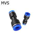 Reduced Straight Fitting Reduced Pipe Quick Joint 1 Touch Push To Connect Pneumatic Hose Straight Pneumatic Fitting