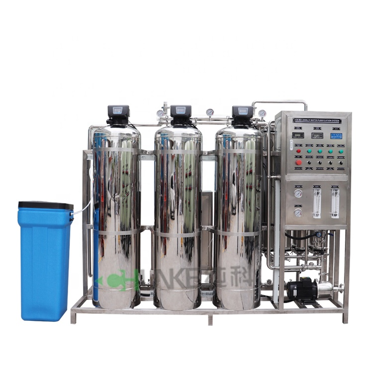 2000 LPH Purified Drinking <strong>Water</strong> ttreatment plant / 2T RO Desalination System / 2000LPH Small RO <strong>Water</strong> <strong>Treatment</strong>